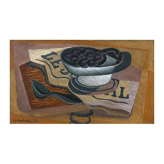 Quadro -Uvas Pretas, 1923-