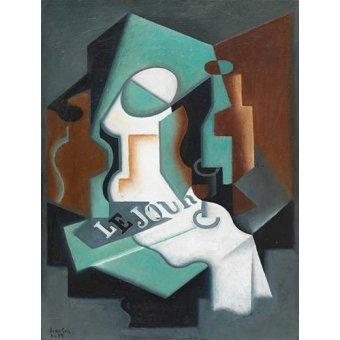 Tableaux abstraits - Tableau -Garrafa e Fruteira, 1919- - Gris, Juan