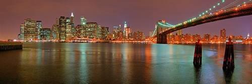 tableaux-photographie - Tableau -New York, noite- - Naturaleza, Fotografia de