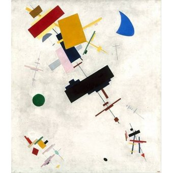 Tableaux abstraits - Tableau -Suprematist Composition No.56, 1936- - Malevich, Kazimir S.