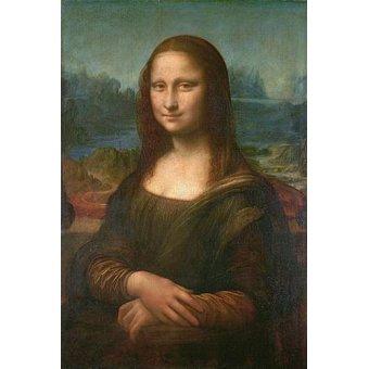 Tableaux de Personnages - Tableau -La Joconde, ou Portrait de Mona Lisa- - Vinci, Leonardo da
