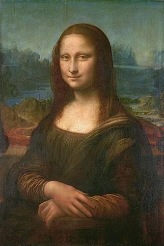 tableaux-de-personnages - Tableau -La Joconde, ou Portrait de Mona Lisa- - Vinci, Leonardo da