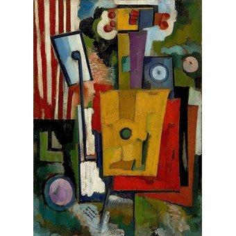Tableaux modernes - Tableau -Vie des instruments, 1916- - Souza-Cardoso, Amadeo de