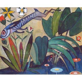 Tableaux de faune - Tableau -O Salto Do Coelho- - Souza-Cardoso, Amadeo de