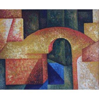Tableaux abstraits - Tableau -Pont- - Souza-Cardoso, Amadeo de