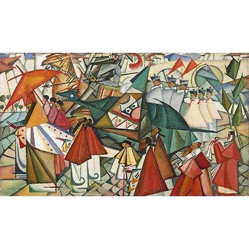 Tableau -Corpus Christi Procession, 1913-