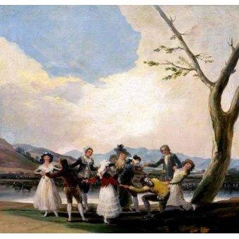 Tableaux de Personnages - Tableau -La gallina ciega- - Goya y Lucientes, Francisco de