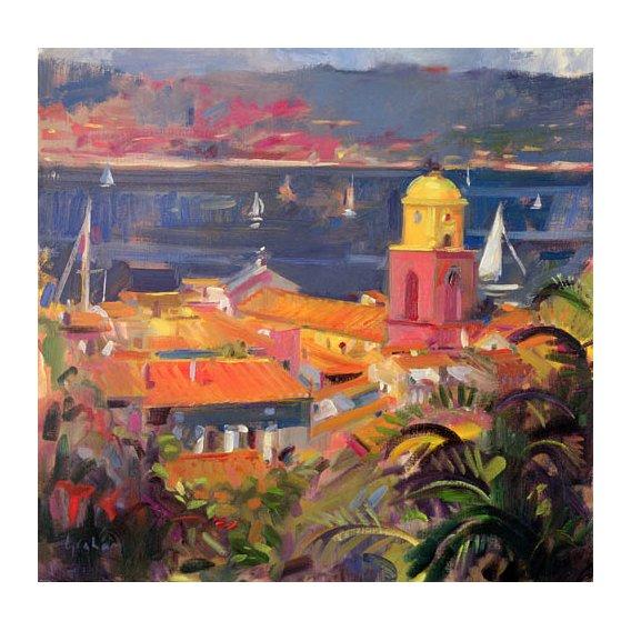 Tableau -St Tropez Sailing, 2002 -