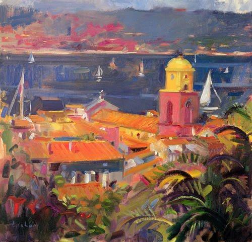 tableaux-modernes - Tableau -St Tropez Sailing, 2002 - - Graham, Peter