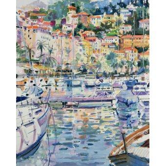 Tableaux de paysages marins - Tableau -Riviera Yacht, 1996 - - Graham, Peter