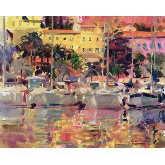 Tableaux modernes - Tableau -Golden Harbour Vista- - Graham, Peter