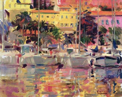 tableaux-modernes - Tableau -Golden Harbour Vista- - Graham, Peter