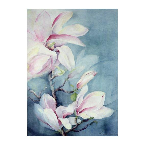Tableau -Magnolia Soulangeana (vertical)-