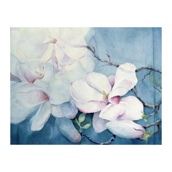 Tableau -Magnolia Soulangeana (horizl)-