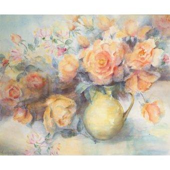 Tableaux de Fleurs - Tableau -Just Joey Roses- - Armitage, Karen
