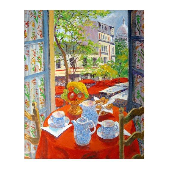 Tableau -Montmartre, 2003-