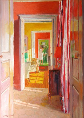 tableaux-modernes - Tableau -Chateau Tanesse, 2003- - Ireland, William