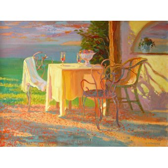 Tableaux nature morte - Tableau -Evening Terrace, 2003- - Ireland, William