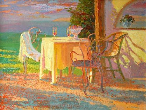 tableaux-modernes - Tableau -Evening Terrace, 2003- - Ireland, William