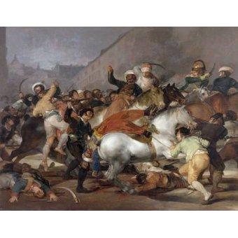 Tableaux de Personnages - Tableau -El 2 de mayo de 1808, la carga de los Mamelucos- - Goya y Lucientes, Francisco de