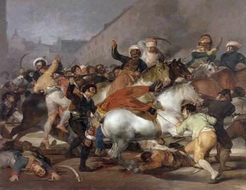 tableaux-de-personnages - Tableau -El 2 de mayo de 1808, la carga de los Mamelucos- - Goya y Lucientes, Francisco de
