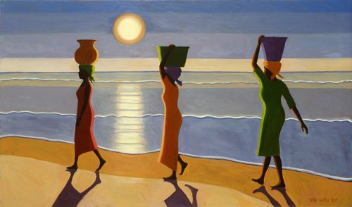 tableaux-orientales - Tableau -By the Beach, 2007- - Willis, Tilly