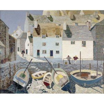 Tableaux de paysages marins - Tableau -Polperro - - Hains, Eric