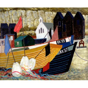Tableaux de paysages marins - Tableau -Hastings Remembered - - Hains, Eric