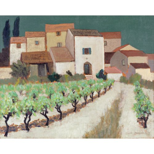 Tableau -Vineyard, Provence -
