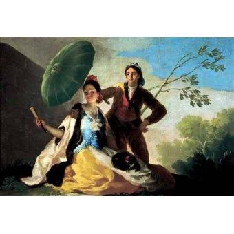 Tableaux de Personnages - Tableau -El quitasol, 1777- - Goya y Lucientes, Francisco de