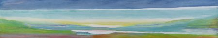 tableaux-abstraits - Tableau -Just Above Sea Level, 2004- - Gibbs, Lou