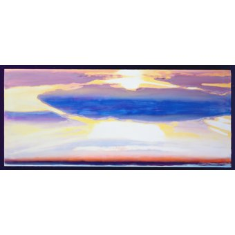 Tableaux abstraits - Tableau -Skyscape (mixed media)- - Gibbs, Lou