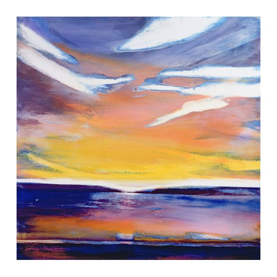 Tableau -Skyscape (mixed media)-