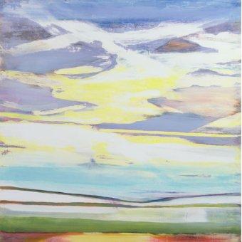 Tableau -Landscape (mixed media)-