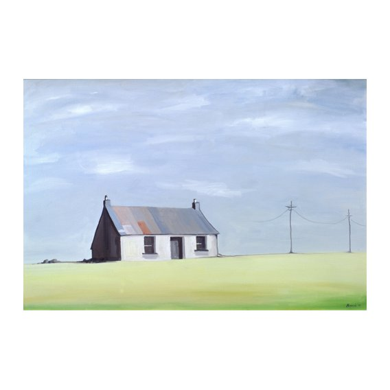 Tableau -This Old House (oil on canvas)-