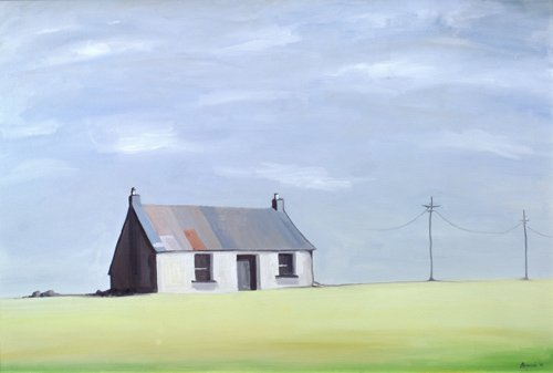 tableaux-de-paysages - Tableau -This Old House (oil on canvas)- - Bianchi, Ana
