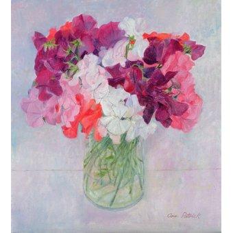 Tableaux de Fleurs - Tableau -Sweet Peas, 1999- - Patrick, Ann