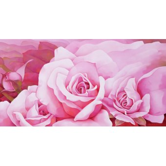 Tableaux modernes - Tableau -The Roses, 2003- - Sim, Myung-Bo