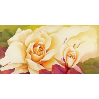 Tableaux modernes - Tableau -The Rose, 2001- - Sim, Myung-Bo