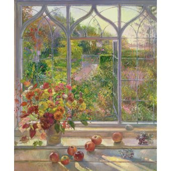 Tableaux nature morte - Tableau -Autumn Windows, 1993- - Easton, Timothy