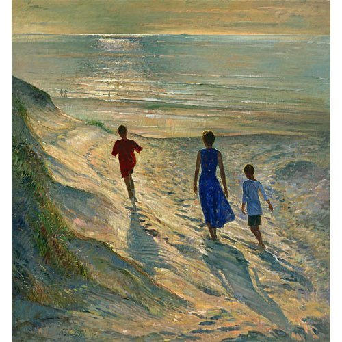 Tableau - Beach Walk, 1994 -