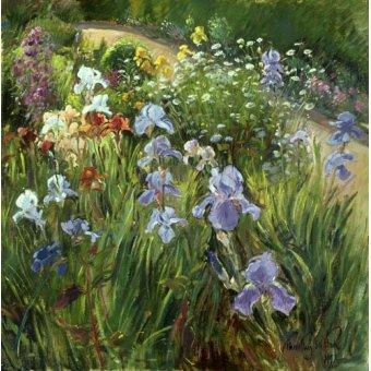 Tableaux de Fleurs - Tableau - Irises and Oxeye Daisies, 1997 - - Easton, Timothy