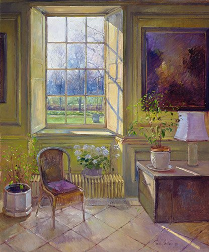 tableaux-pour-salle-a-manger - Tableau - Spring Light and The Tangerine Trees - - Easton, Timothy