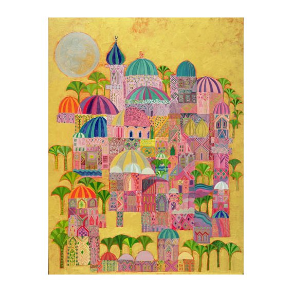 Tableau - The Golden City, 1993-94 -
