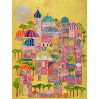 Tableaux orientales - Tableau - The Golden City, 1993-94 - - Shawa, Laila