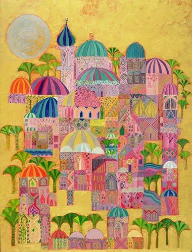 tableaux-orientales - Tableau - The Golden City, 1993-94 - - Shawa, Laila