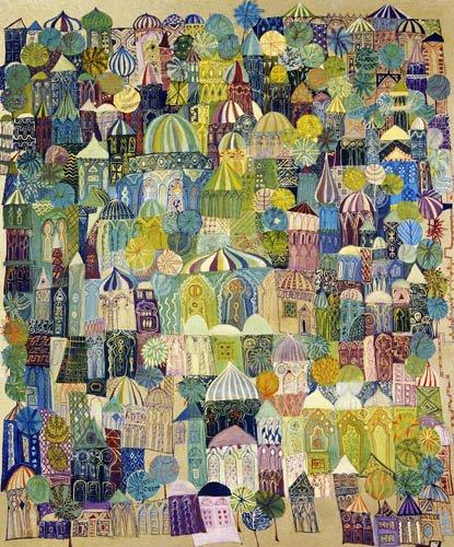 tableaux-orientales - Tableau - Jerusalem, 1970 - - Shawa, Laila