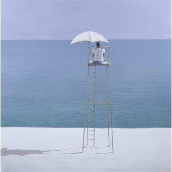 Tableaux de paysages marins - Tableau - Beach Guard, 2004 - - Seligman, Lincoln