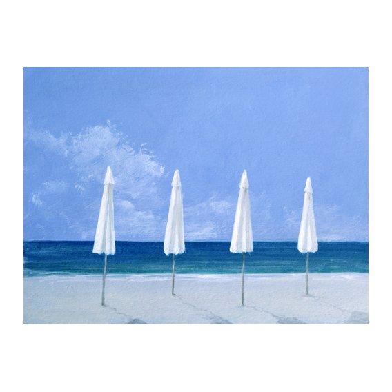 Tableau - Beach Umbrellas, 2005 -