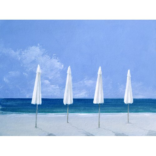Tableau - Beach Umbrellas, 2005 -